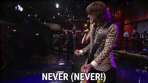 Bedroom Band Forever Mine Nevermind Live On Letterman Lyrics The Band Perry