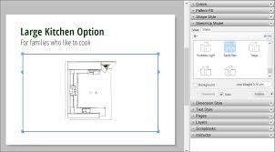 How To Make A Floor Plan In Google Sketchup by Editing A Sketchup Model U0027s View And Style Settings In Layout