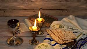 sabbath candles on batmitsve candle for lighting shabbat candles stock footage