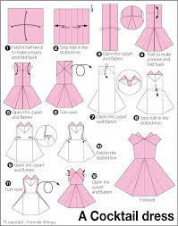 comment faire une robe de chambre origami evening dress origami how to a paper