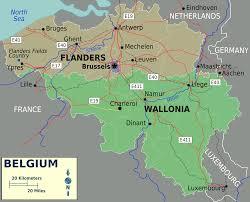 map belguim belium map major tourist attractions maps