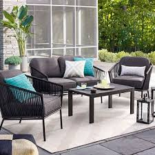Patio Furniture Couch by Steel Patio Furniture Target