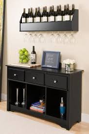 Black Dining Hutch Kitchen Fabulous Small Buffet Hutch Black Buffet Table Wine