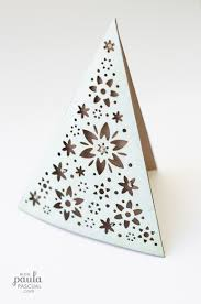 paula pascual a ornament tree card