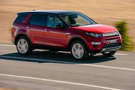 land rover discovery sport red land rover discovery sport gains new ingenium diesel engine