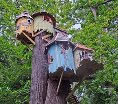 decorations colorful simple treehouse designs for with