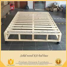 bedroom furniture wooden kd bed base mattress foundation buy kd
