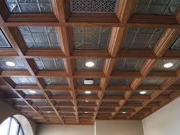 coffer ceilings coffered ceilings wood suspended drop ceiling systems pertaining to