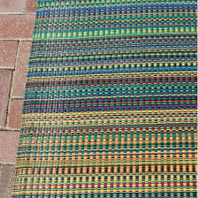 Outdoor Mats Rugs Shop Mixed Rainbow Outdoor Mat 4ft X 6ft Mad Mats Rugs