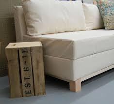 White Sofa Chair by Ana White Storage Sofa Diy Projects