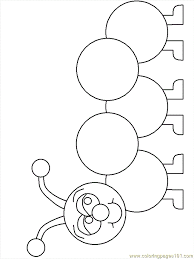 caterpillar coloring pages kids coloring