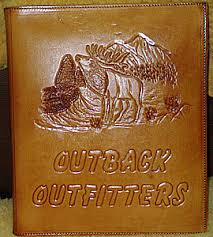 personalized leather photo albums tooled leather memory books personalized leather photo albums