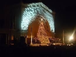 Bellevue Baptist Church Singing Christmas Tree by The Singing Christmas Tree Christmas Lights Decoration
