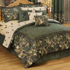browning camouflage comforter sets queen size browning whitetails