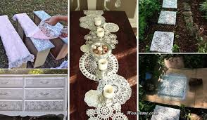 top 22 charming home decorating diys can make with lace amazing
