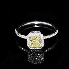 canary yellow engagement rings best 25 canary rings ideas on yellow