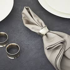 crate and barrel napkins emerson napkin ring in napkin rings place card holders reviews