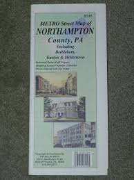 Franklin Maps Metro Street Map Of Northampton County Pa Including Bethlehem
