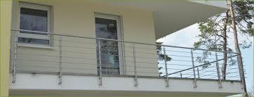 balkon edelstahlgel nder bauer tore balkongeländer