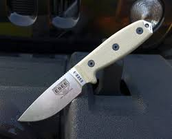 we carry esee bushcraft survival and camp lore knives