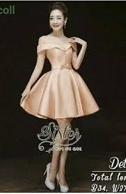 dress pesta dress pesta pendek wanita dewasa cantik model terbaru