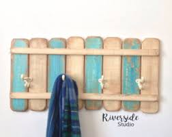 Shabby Chic Coat Hangers by Towel Hook Rack Etsy