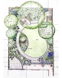Garden Design Ideas For Large Gardens Designing Garden Layout I U0027m Loving The Curves In This Layout