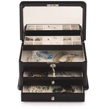 Paris Themed Jewelry Box Jewelry Storage Walmart Com