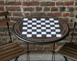 Chess Table Chess Table Etsy