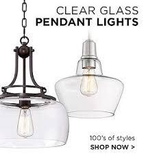 Clear Glass Pendant Light Fixtures Pendant Lighting Hanging Light Fixtures Lamps Plus