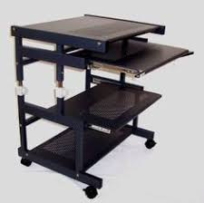 24 Inch Wide Computer Desk Portable 24 Inch Wide Compact Computer Cart With Hutch For Prnter