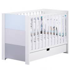 Non Convertible Cribs Sauthon Crib 120x60 Blue Non Convertible