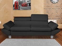 canape cuir avec tetiere canapé cuir authenticité et design dans votre salon