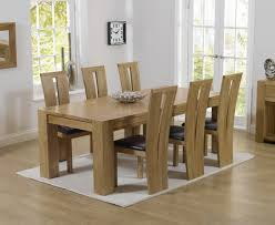 Dining Room Furniture Montreal Thames 220cm Oak Dining Table With Montreal Chairs The Great