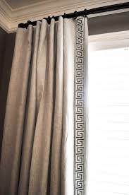 Curtain Trim Ideas Curtains Outstandingow Drapery Panels Best Ideas On