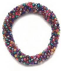 beaded bracelet crochet images Ravelry wire bead crochet jewelry patterns patterns jpg
