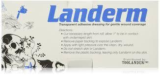 amazon com landerm transparent film tattoo aftercare 6 in x 11 yd