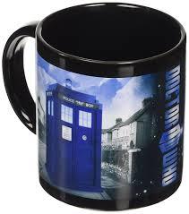 Tardis Bookcase For Sale Doctor Who Tardis Heat Reveal Ceramic Mug Dr142 Amazon Co Uk