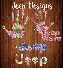 jeep wave stickers jeep wave decal jeep punisher jeep dog pawlilly pulitzer