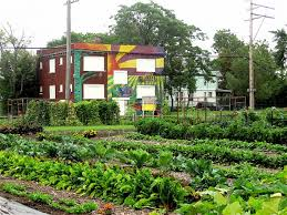 self sustaining garden this area in detroit is now america s first 100 organic self