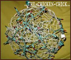 outdoor christmas light balls chicken wire lighted christmas balls tis the season the