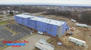 Photographers In Grand Rapids Mi Hilton Garden Inn Michigan Drone Pros Drone Aerial Photography