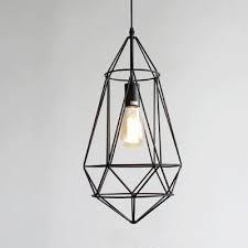 Bird Pendant Light Industrial Hanging Pendant Light With Bird Lantern Cage