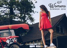 fox racing womens summer 2018 juniors lifestyle apparel collection
