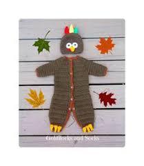 baby turkey hat and booties baby turkey costume turkey photo prop