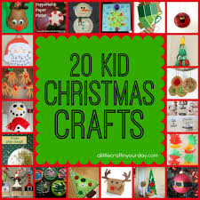20 christmas kid crafts craft and xmas
