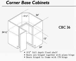 how to measure corner cabinets cornerbasecab jpg 360 288 corner cabinet solutions