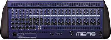 midas console midas venice f 24 24 channel firewire mixing console planet dj