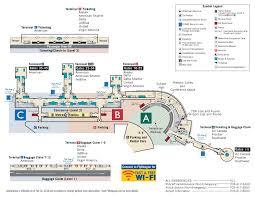 Jetblue Airports Map Terminal Map Metropolitan Washington Airports Authority