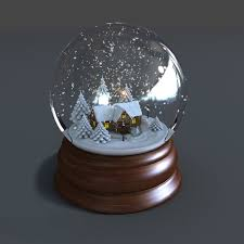 model of snow globe animations